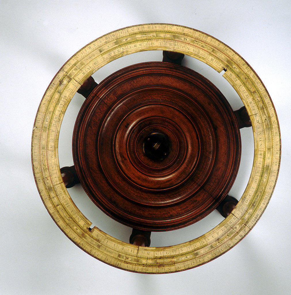 Detail of Stand and horizon ring by John Senex