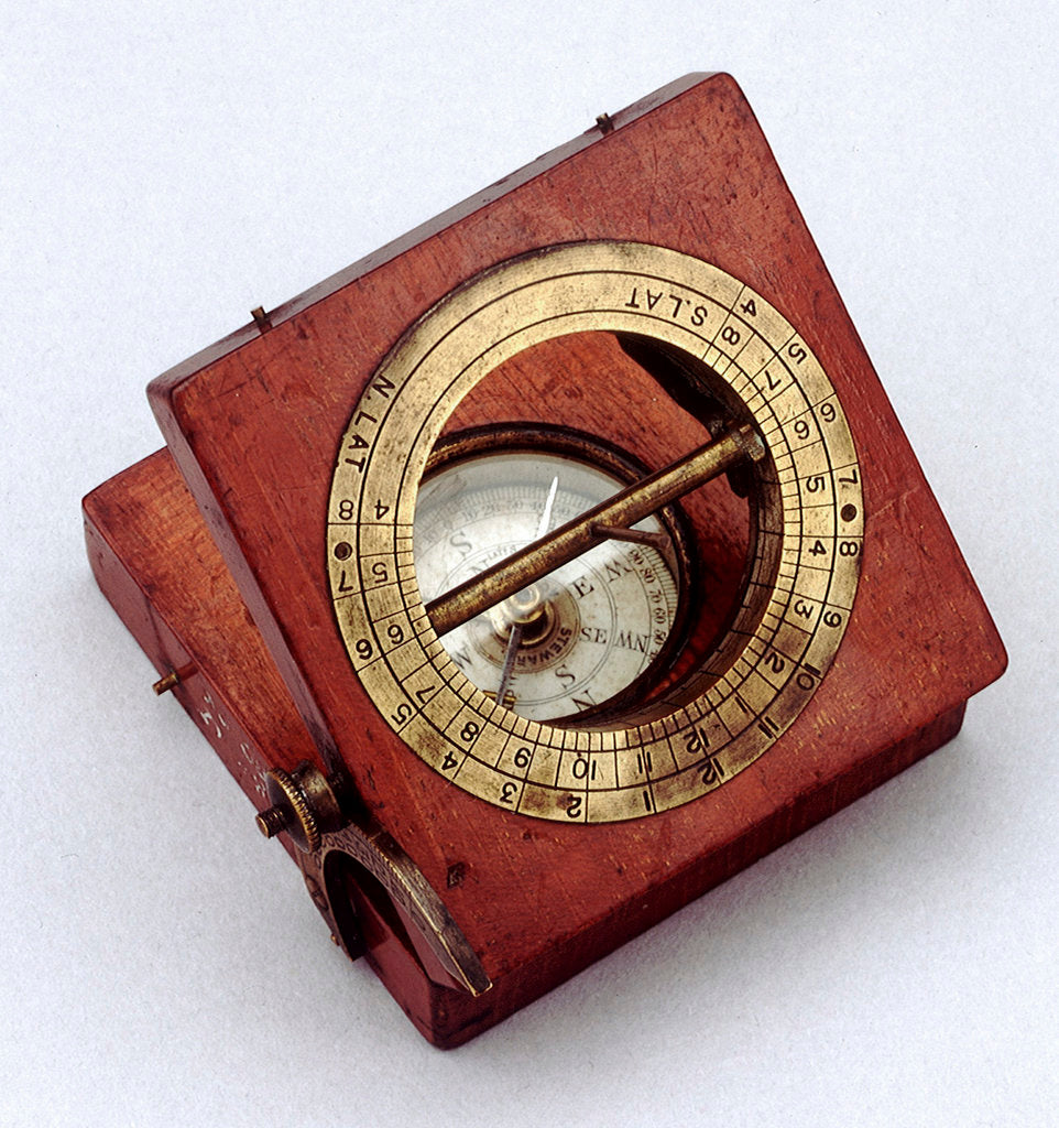 Detail of Equinoctial dial by J. H. Steward