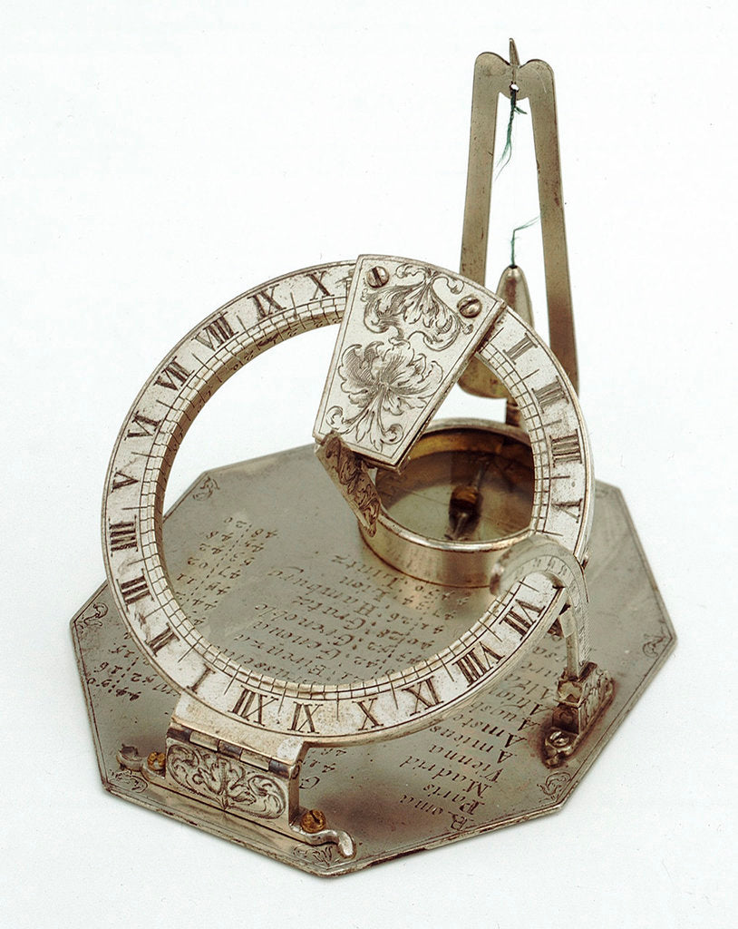 Detail of Equinoctial dial by Jacob Lusuerg