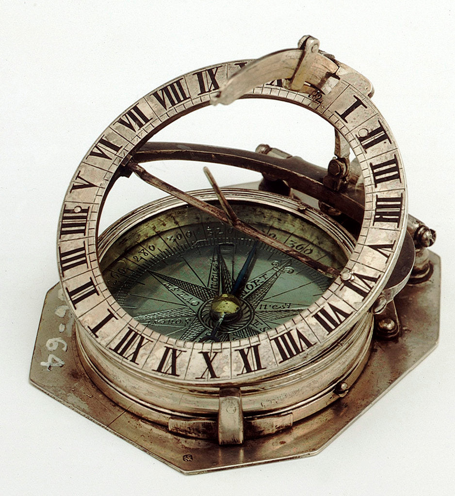 Detail of Equinoctial dial by Lefevre