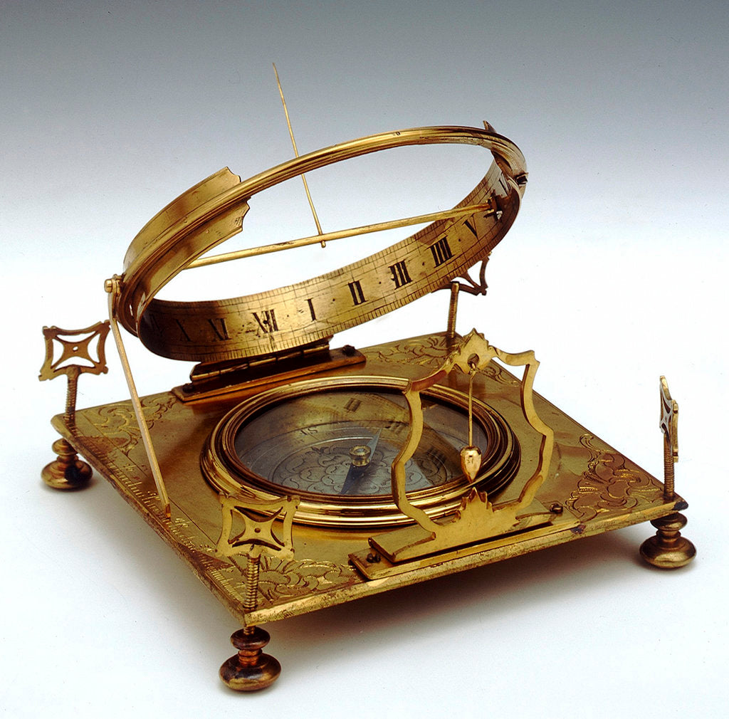 Detail of Equinoctial dial by unknown