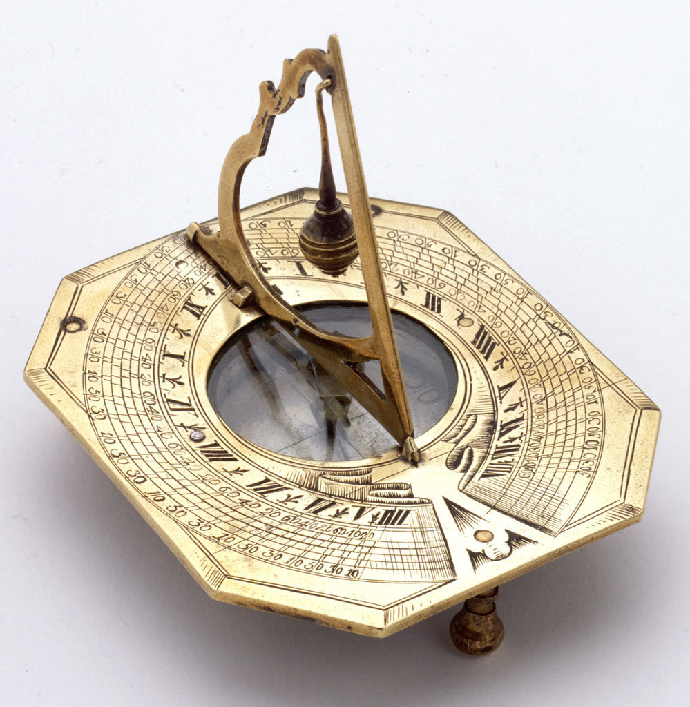 Detail of Horizontal dial by unknown
