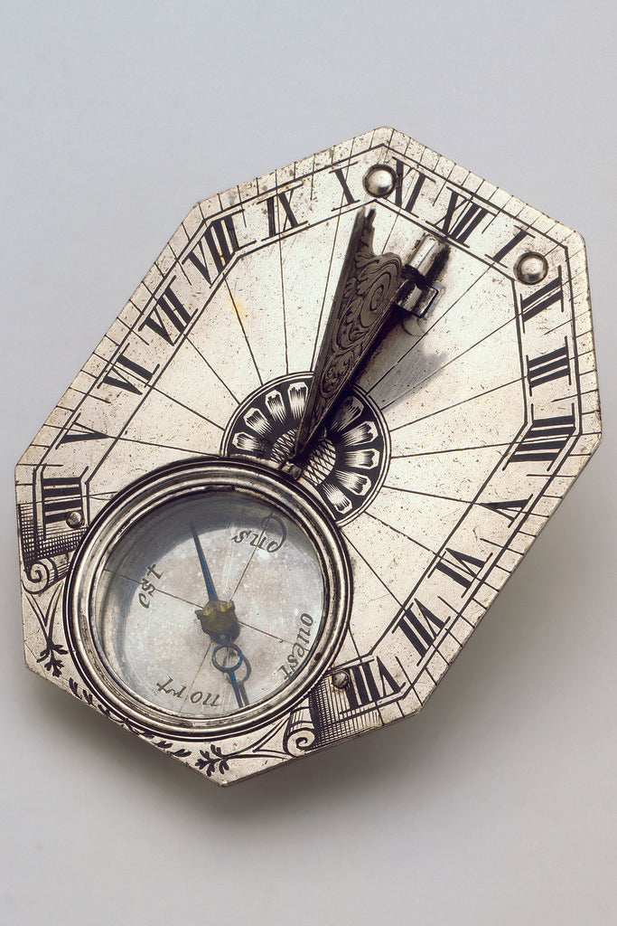 Detail of Horizontal dial by Pierre Sevin
