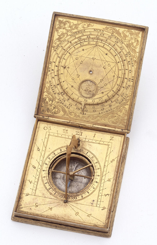 Detail of Astronomical compendium, leaves Ib and IIa by unknown