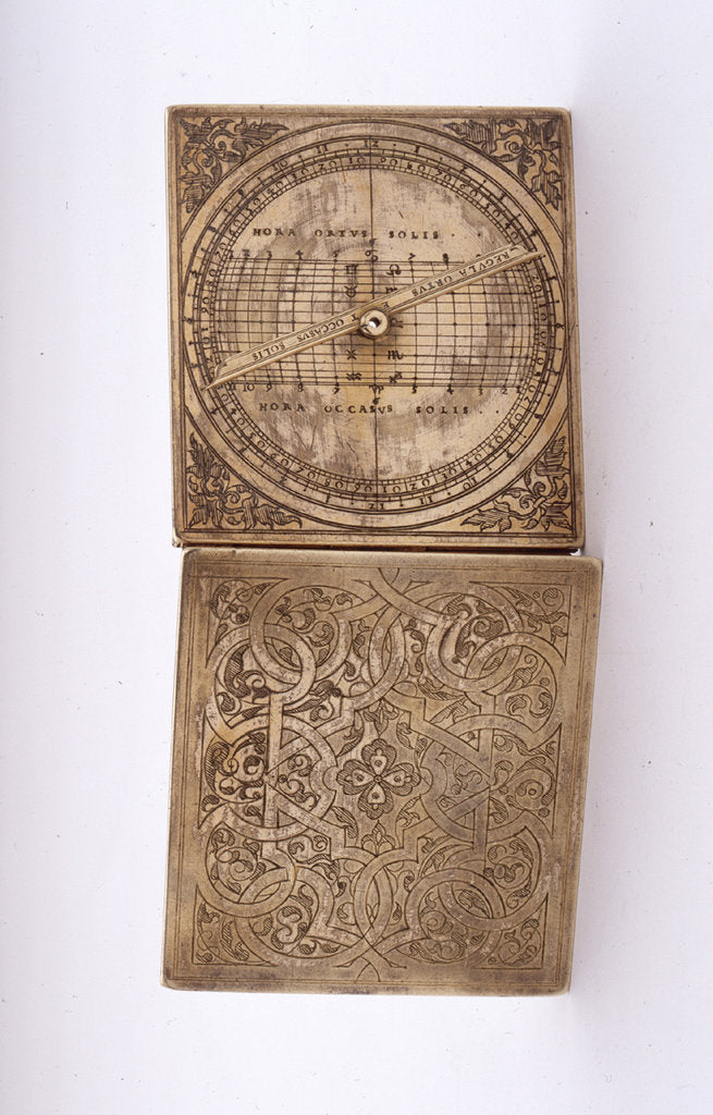 Detail of Astronomical compendium, leaves IIIb and Ia by unknown
