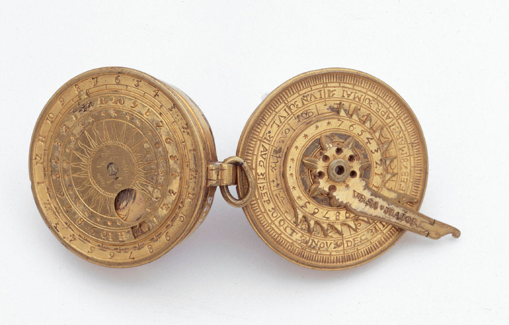 Detail of Astronomical compendium by unknown