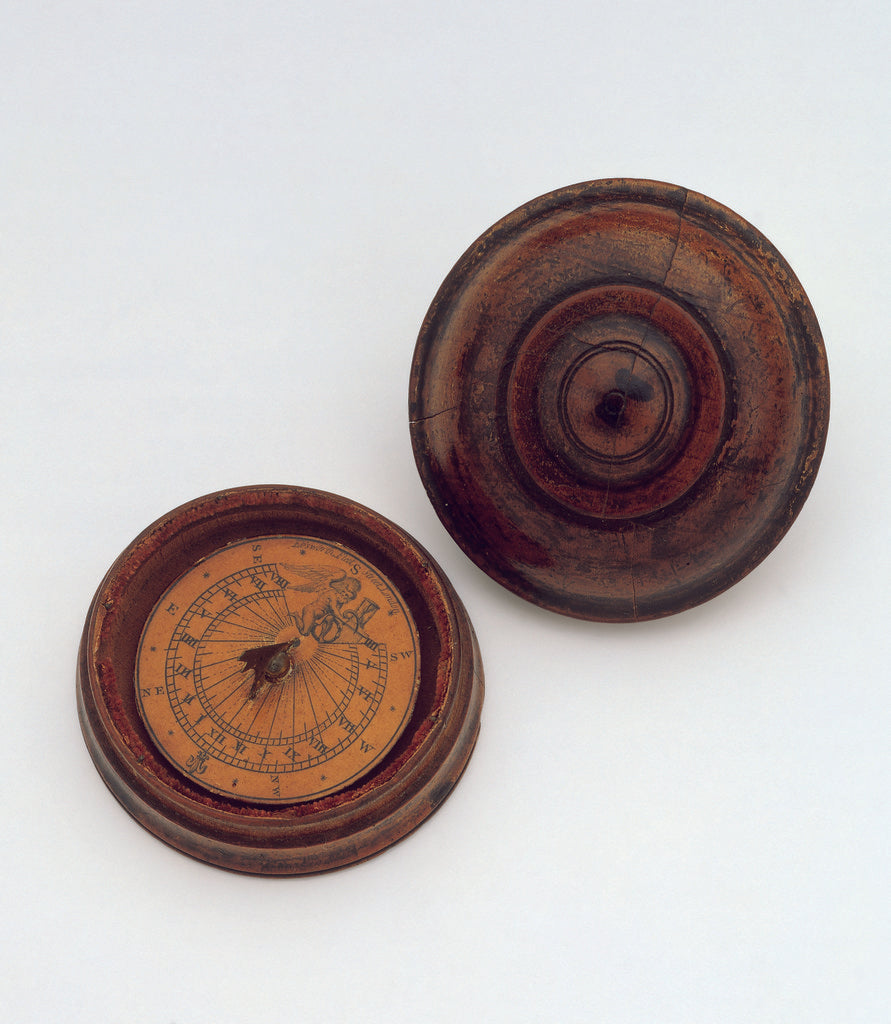 Detail of Magnetic dial, with lid by Richard Ebsworth