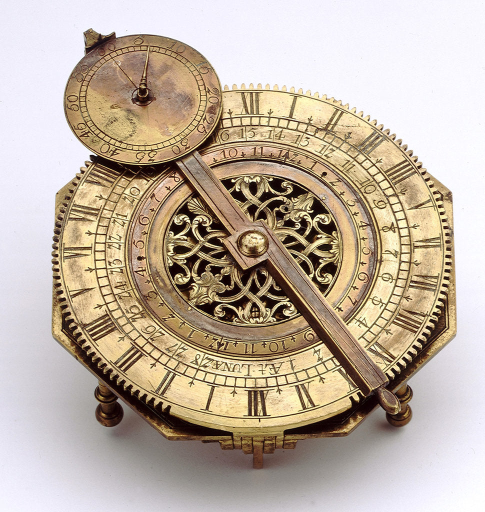 Detail of Mechanical equinoctial dial by Michael Bergauer