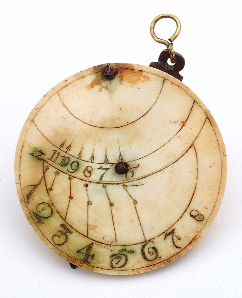 Detail of Vertical disc dial by unknown