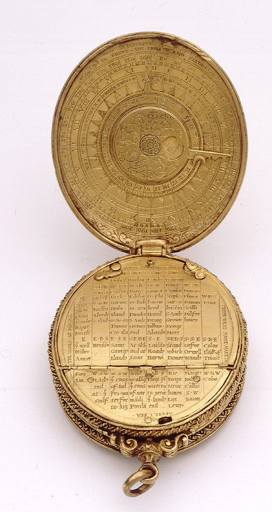 Detail of Astronomical compendium, all leaves by Humphrey Cole
