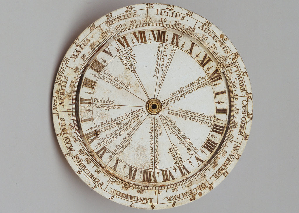 Detail of Universal equinoctial ring dial by Thomas Heath
