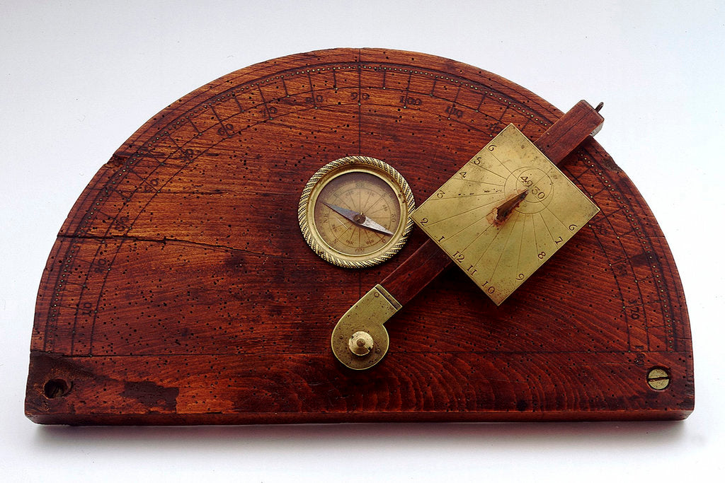 Detail of Construction dial by unknown