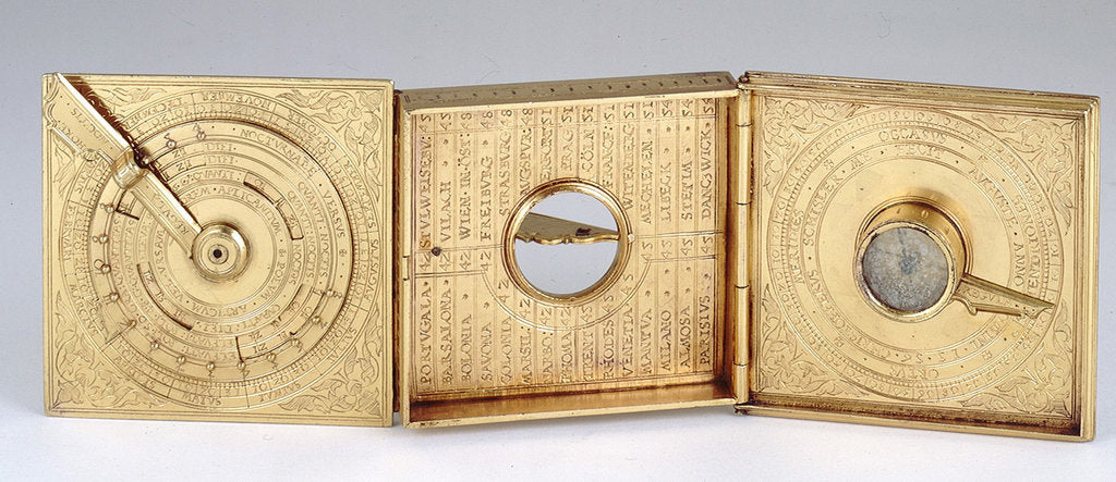 Astronomical compendium, leaves Ia, IIb and IIIa by Christoph Schissler