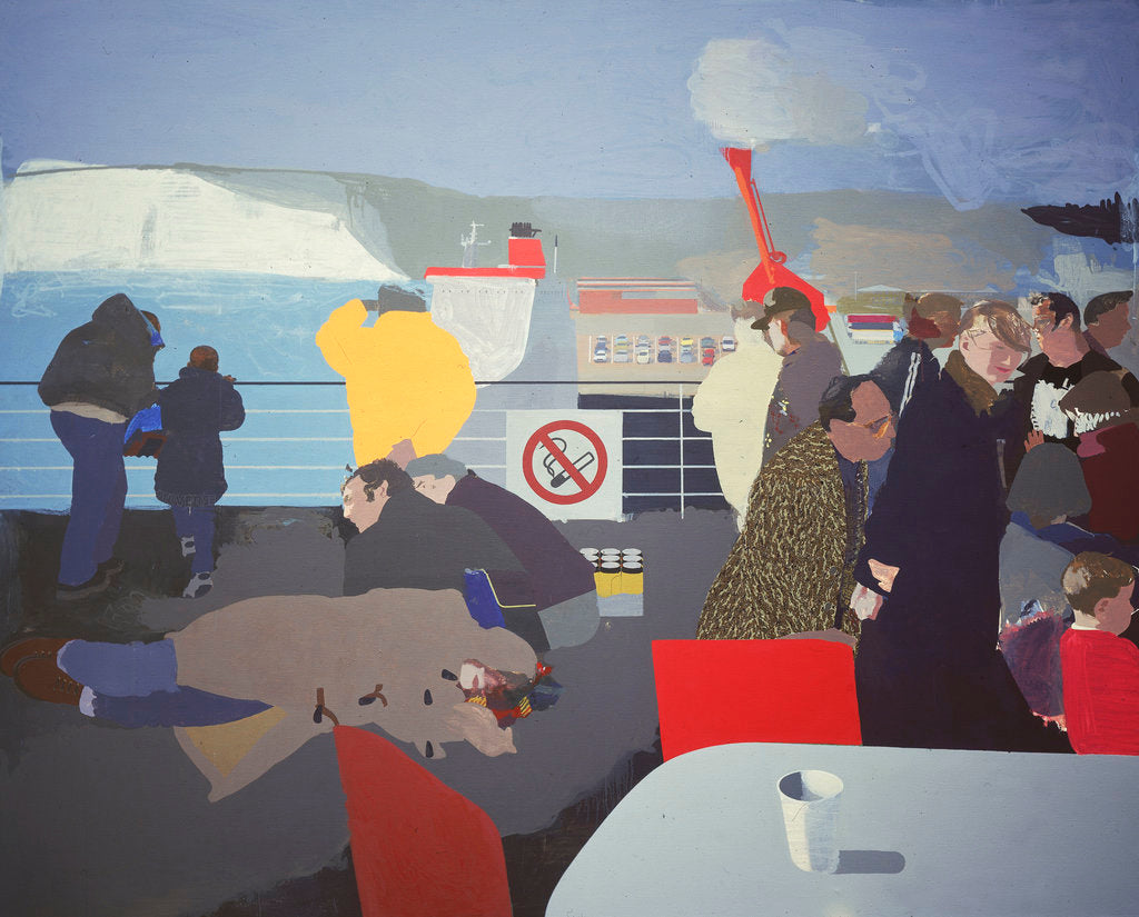 Detail of The First of England, 1998 by Humphrey Ocean