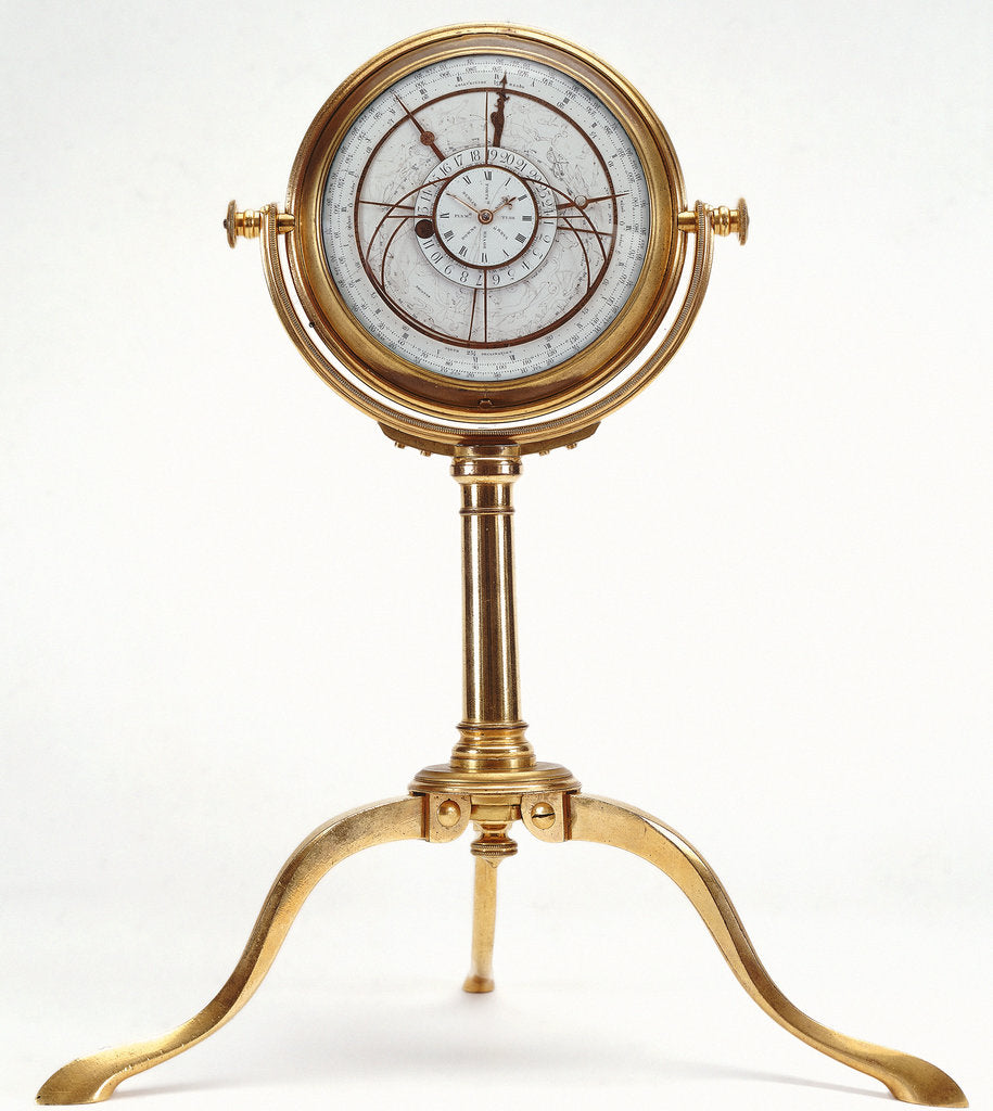 Detail of Astronomical chronometer by George Margretts