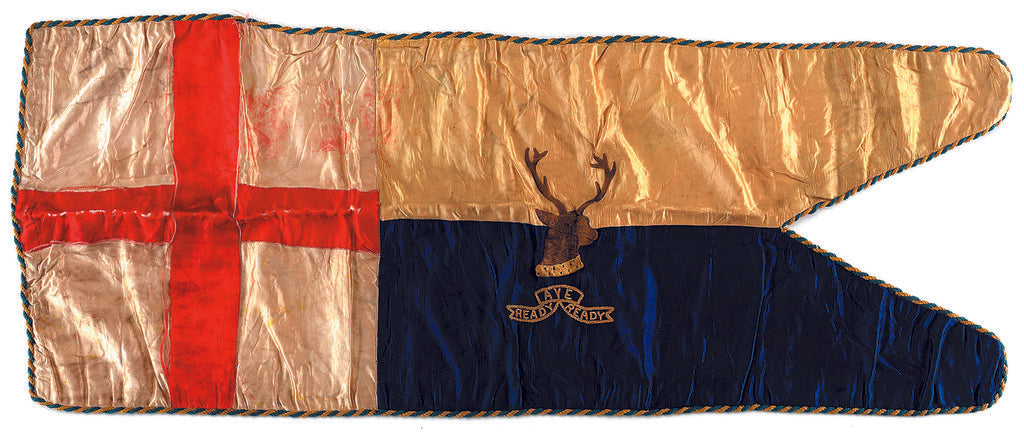 Detail of Captain Robert Falcon Scott's sledge flag by unknown