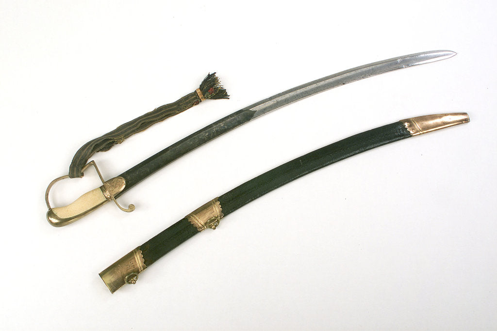 Detail of Light Cavalry-type sword by Hill & Yardley
