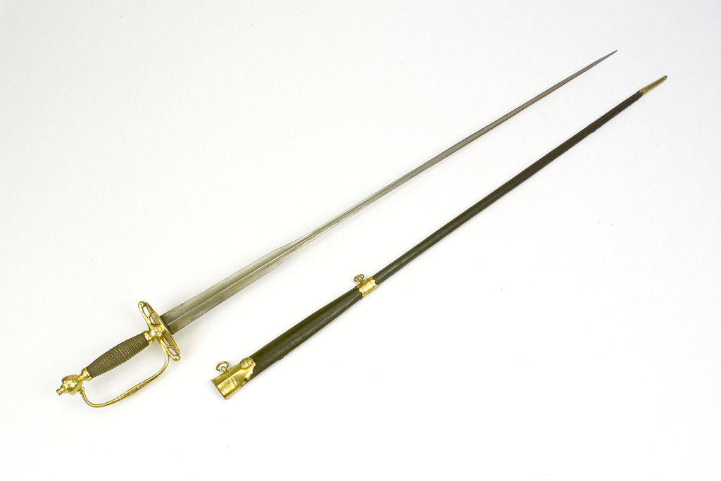 Detail of Small-sword said to have belonged to Sir William Hamilton (1730-1800). by Cullum