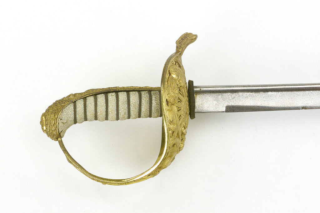 Detail of Hilt of sword, Austrian by unknown