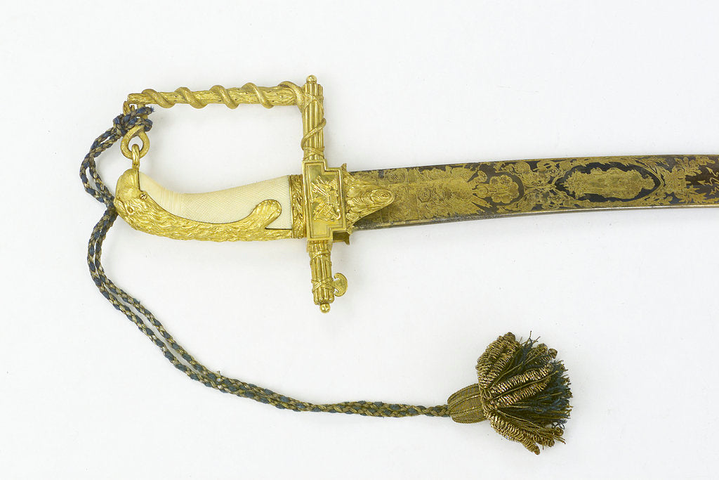 Detail of Hilt of sword, presentation by unknown