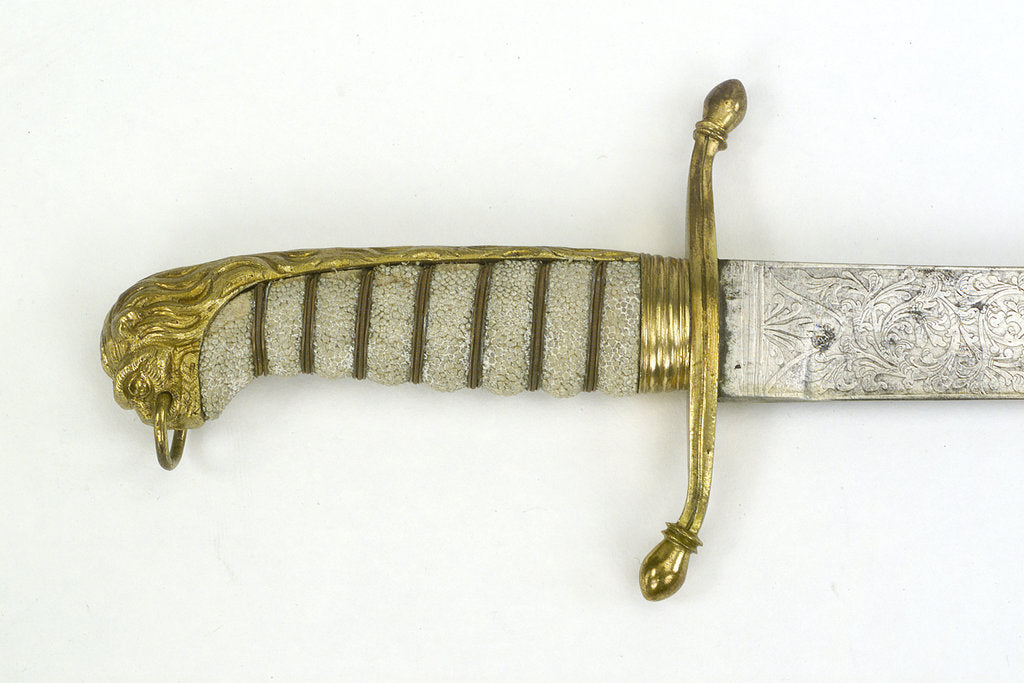 Detail of Hilt of dirk, after 1856 by unknown