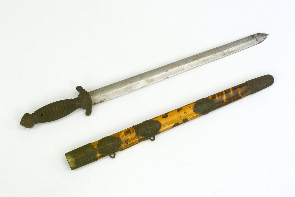 Detail of Chinese sword by unknown
