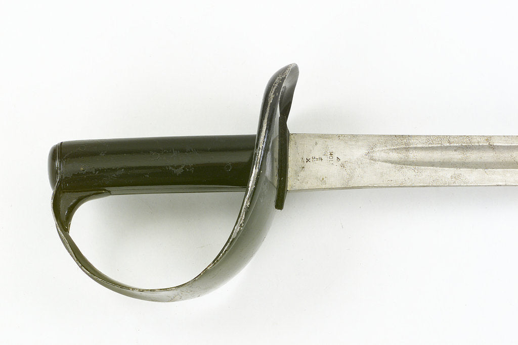Detail of Hilt of cutlass by unknown