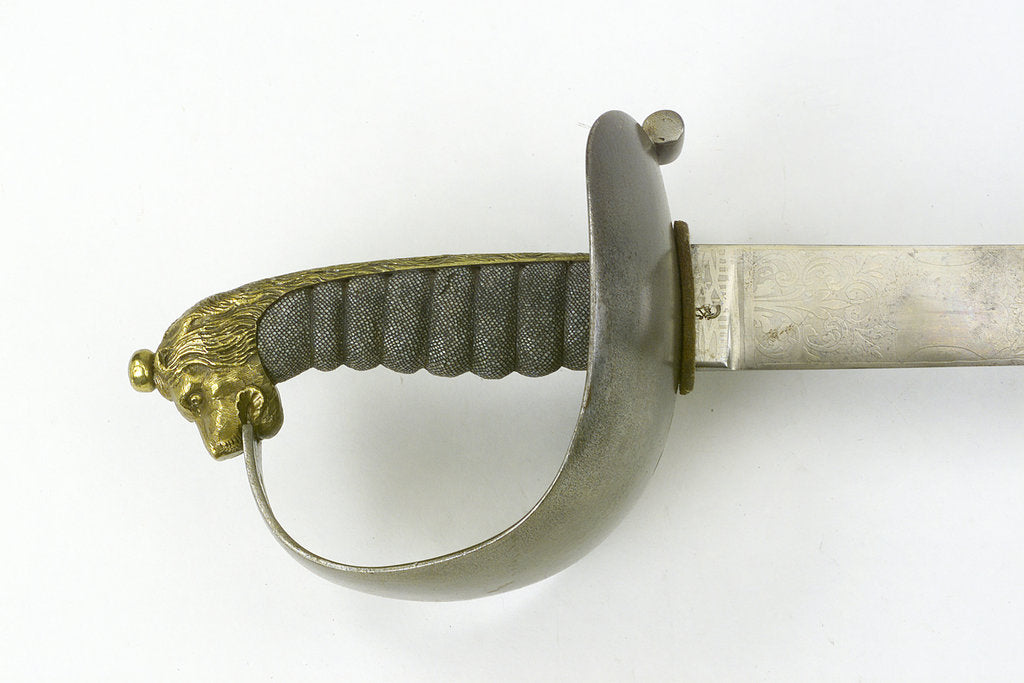 Steel hilted cutlass by Silver & Co.