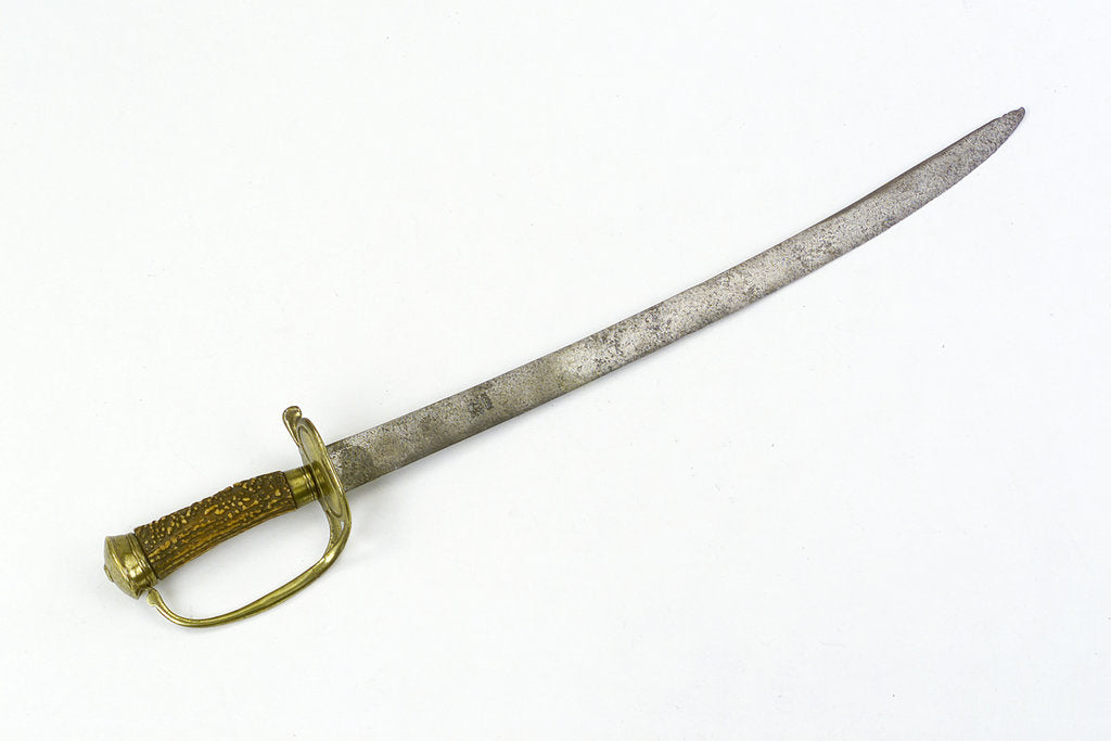 Detail of Hunting sword by unknown