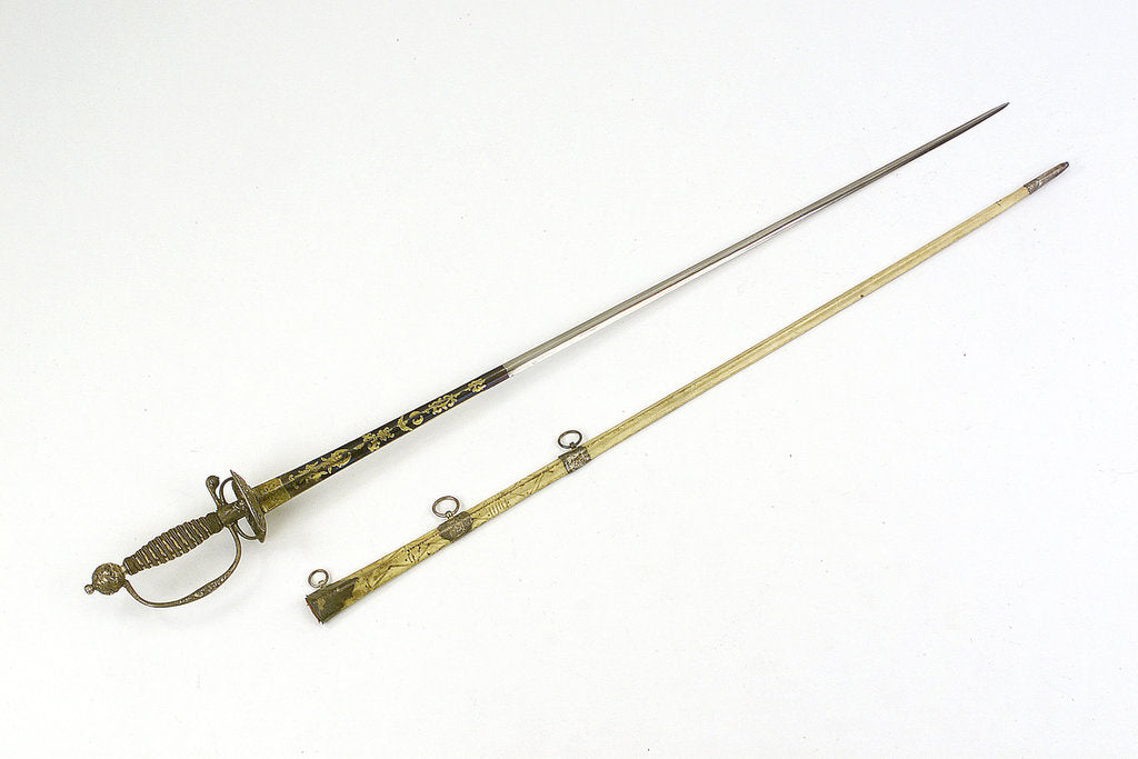 Detail of Small-sword said to have belonged to Sir William Hamilton (1730-1800) by Thomas Jeffrey