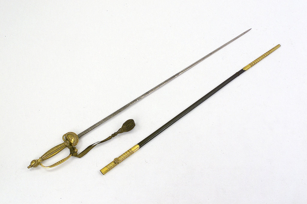 Detail of Court sword, which belonged to Reverend Henry Bellairs (1790-1872) by Forest