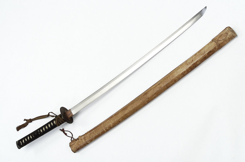 Detail of Katana (sword) by unknown