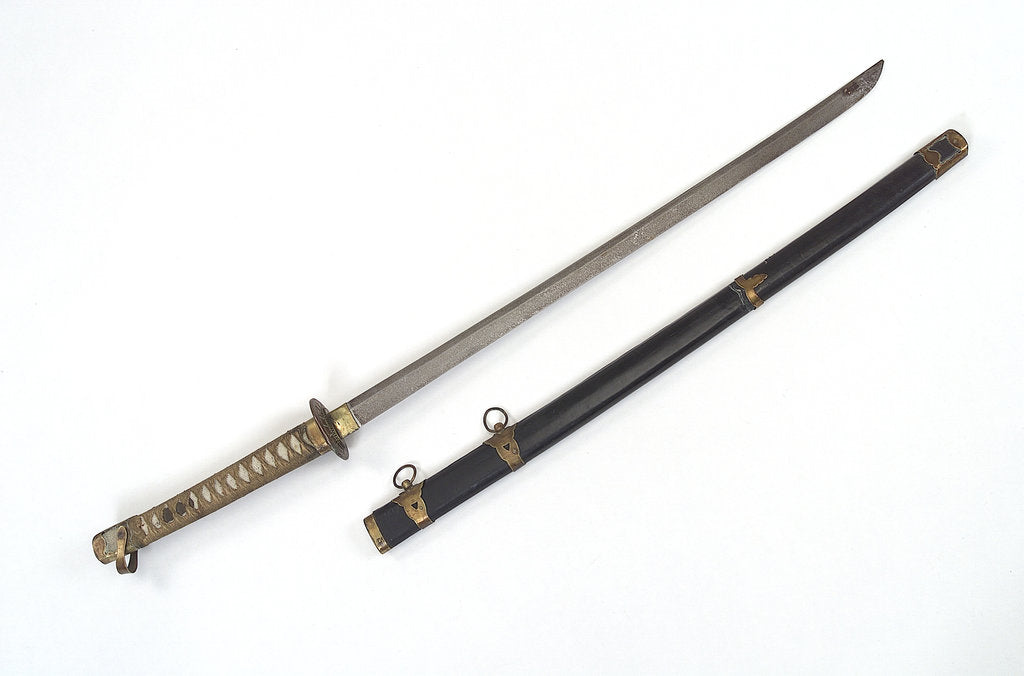 Detail of Tachi (sword) by unknown