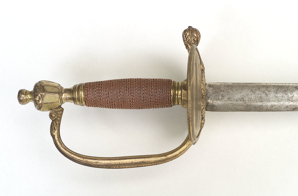 Detail of Hilt of infantry sword by unknown