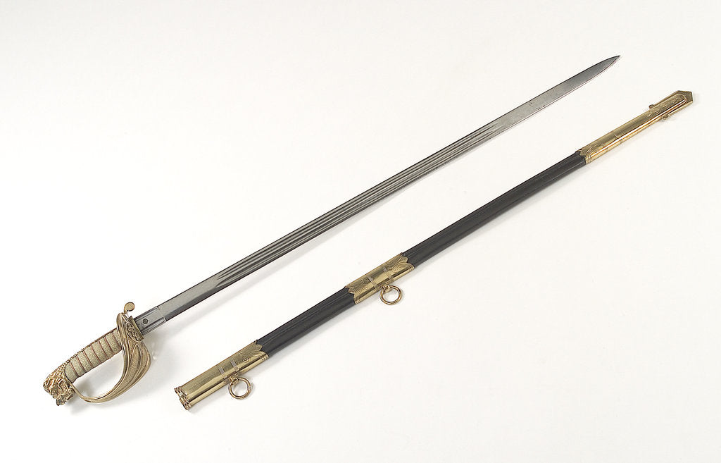 Detail of Chinese Maritime Customs sword by Firmin & Sons Ltd.