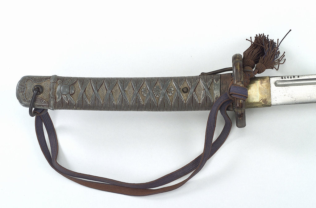 Detail of Hilt of tachi (sword) by unknown