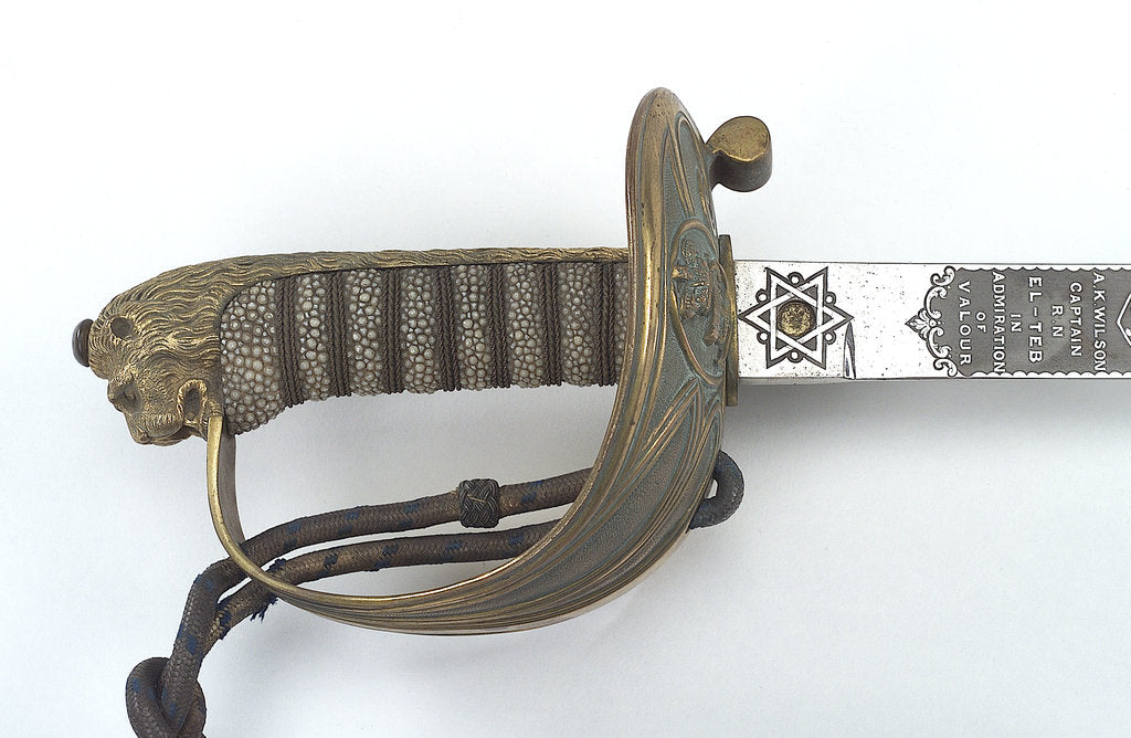 Detail of Presentation sword by Henry Wilkinson