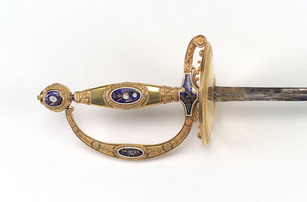 Detail of Presentation sword by James Morisset