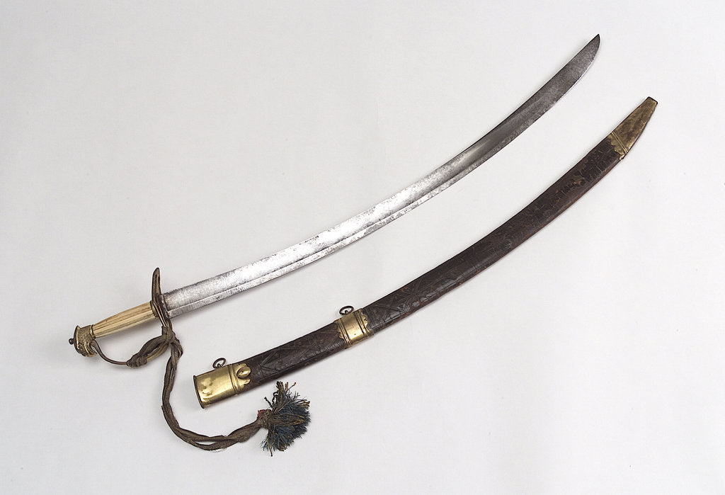 Detail of Slotted hilt sword by Osborn