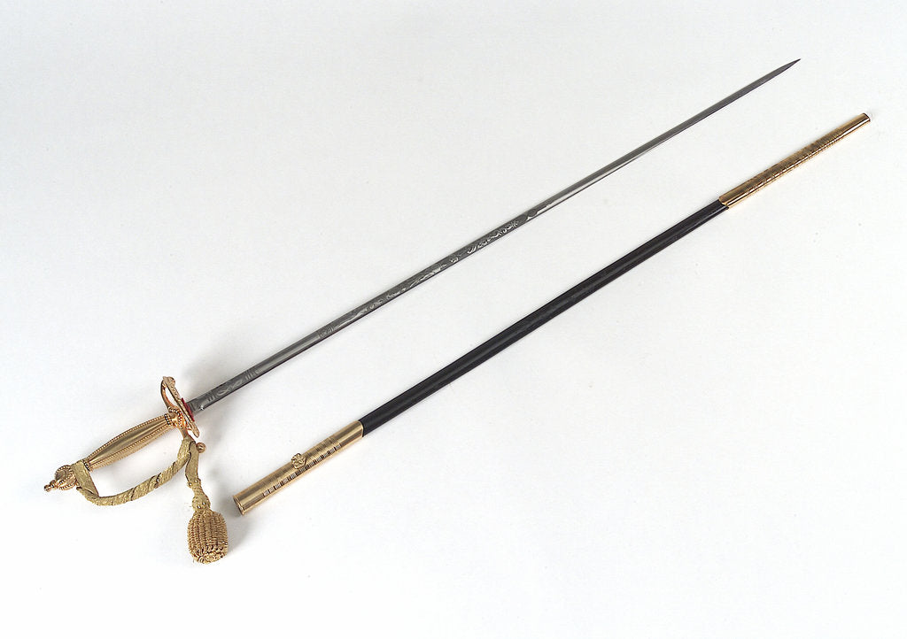 Detail of Court sword by Hawkes & Co. Ltd.