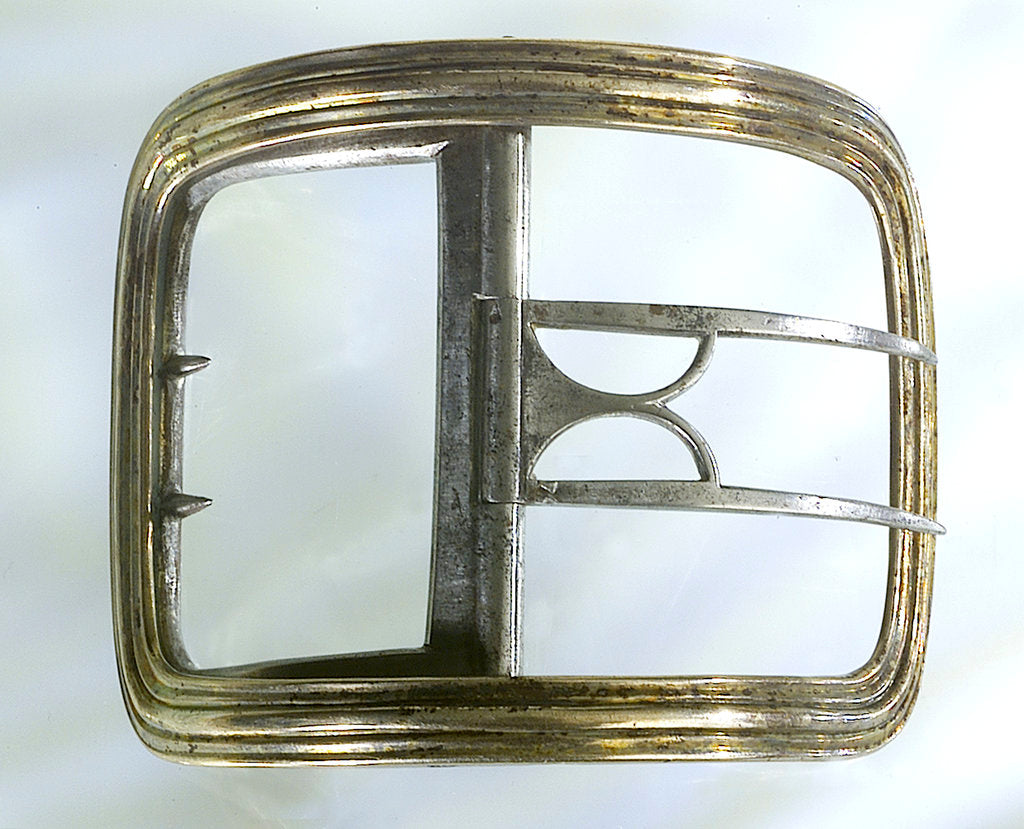 Detail of Shoe buckle by William Sumner