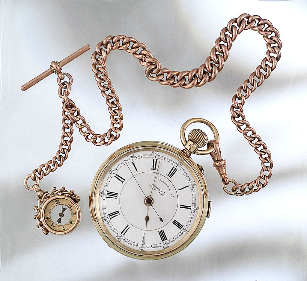 Detail of Watch by J. J. Levenberg & Co.