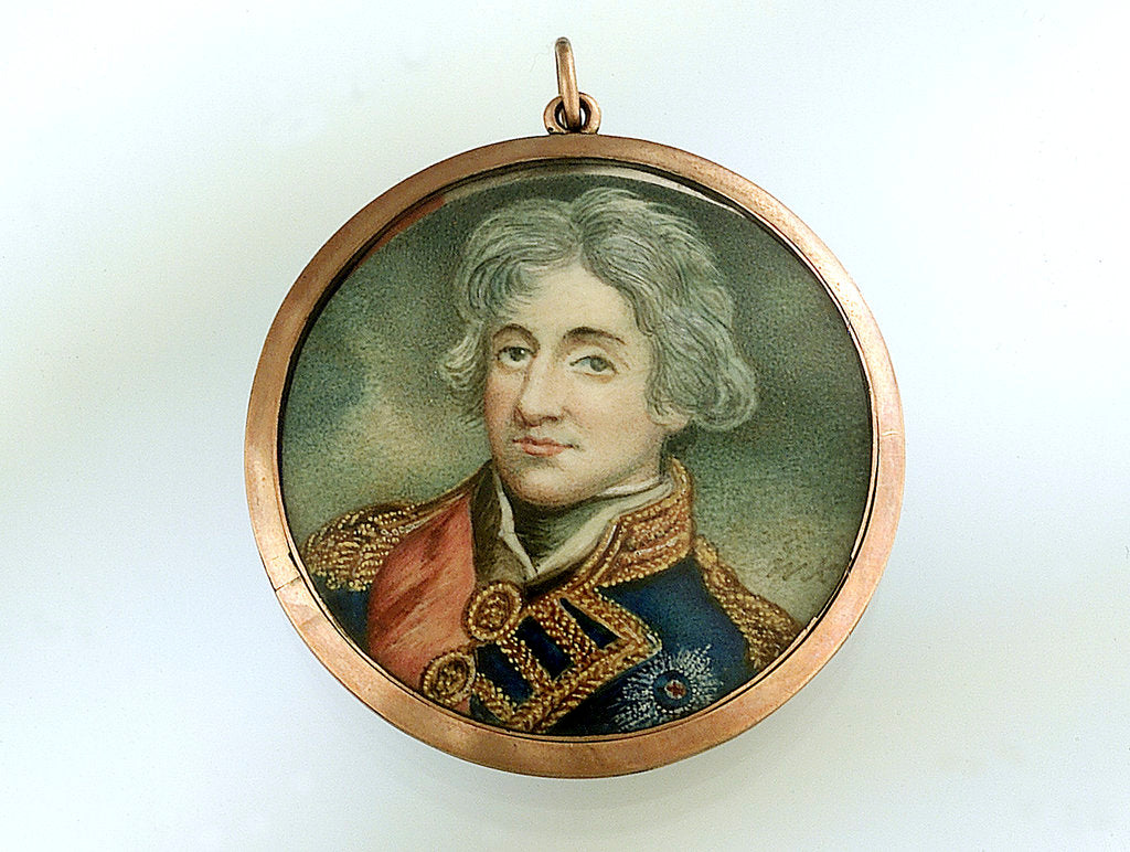 Detail of Gold pendant by John Hoppner