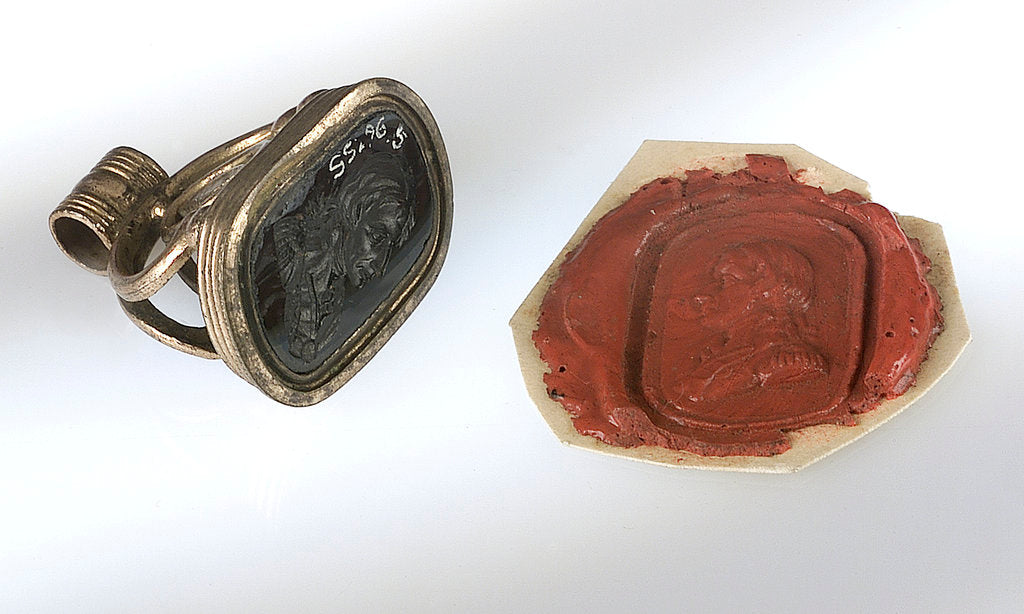 Detail of Fob seal by unknown