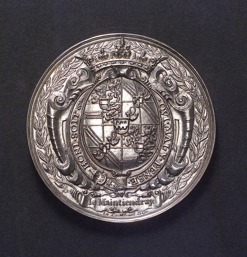 Detail of Medal commemorating the naval victories off Brazil Peru and San Salvador, 1624; reverse by J. van Bylaer
