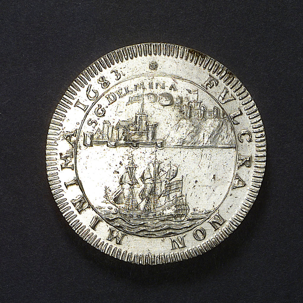 Medal commemorating St George Del Mina (West Africa); obverse by unknown