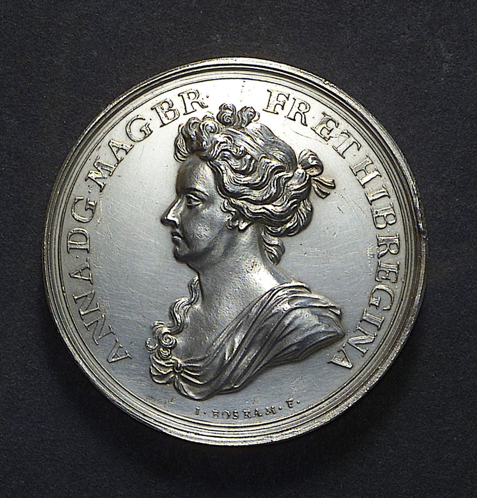 Medal commemorating the Expedition to Vigo Bay, 1702; obverse by J. Boskam