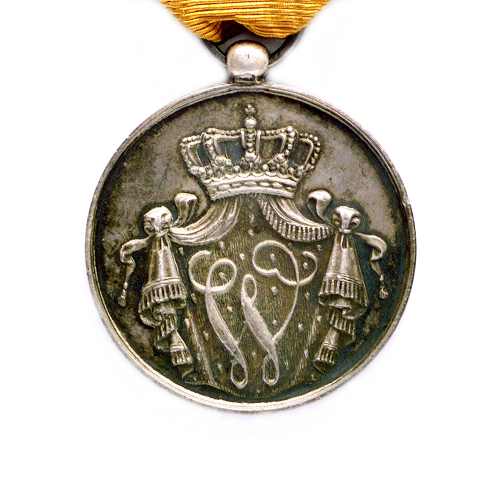 Detail of Medal commemorating the Dutch marine service; reverse by unknown