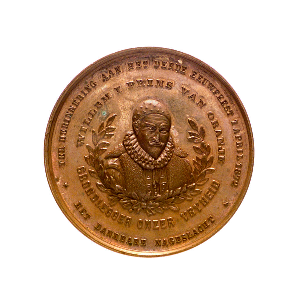 Detail of Medal commemorating the tercentenary of the deliverance of Briel; obverse by Posthumus