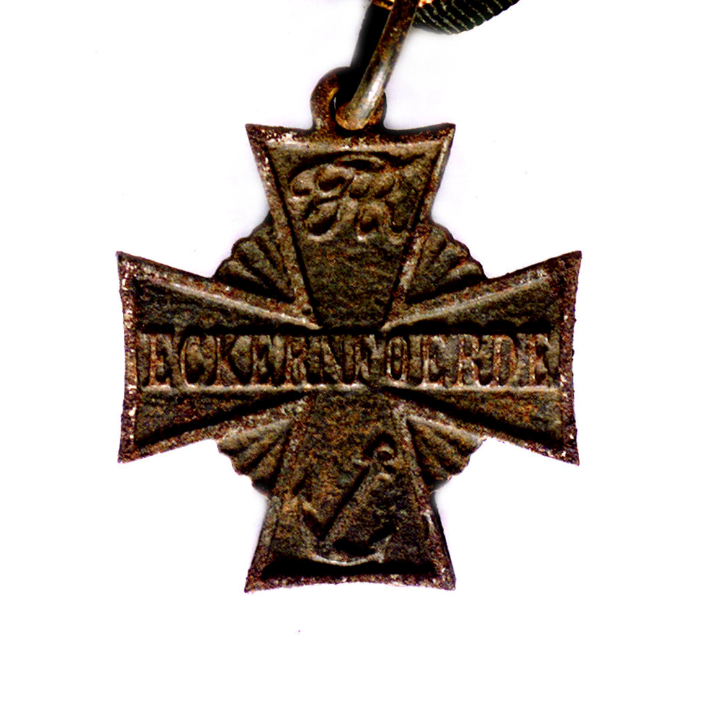 Detail of Medal commemorating the action at Eckernförde, 1849; obverse by unknown